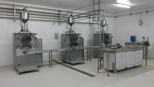 Production de crème glacée