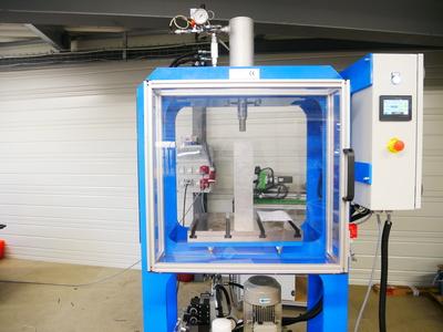 Automatisation d'une presse hydraulique 15 Tonnes